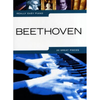 Песенный сборник Musicsales Really Easy Piano Beethoven