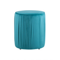 Пуф Stool Group Мира (Emera slim HLR-62) бирюзовый