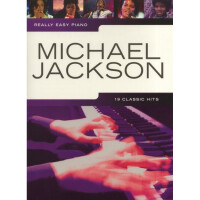Песенный сборник Musicsales Really Easy Piano Michael Jackson