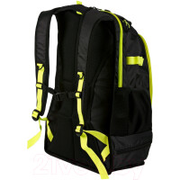 Рюкзак Arena Fastpack 2.1 black/fluo yellow/silver (1E388 50)