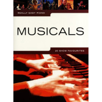 Песенный сборник Musicsales Really Easy Piano: Musicals