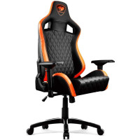 Кресло игровое Cougar Armor S black/orange (CU-ARMS)