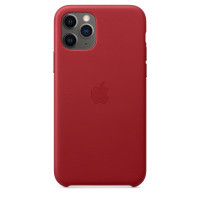 Чехол для Apple iPhone 11 Pro Leather Case (PRODUCT)RED MWYF2ZM/A