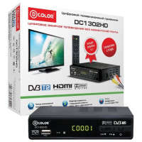 Тюнер DVB-T D-Color DC1302HD