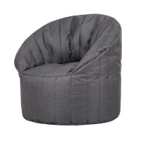 Кресло-мешок Papa Poof club chair graphite