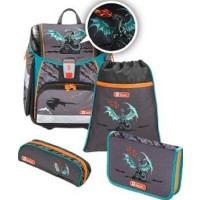 Ранец Step By Step Touch2 Flash Fire Dragon (0139213)