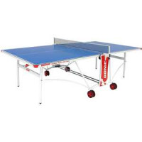 Стол теннисный Donic Outdoor Roller De Luxe Blue