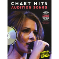 Песенный сборник Musicsales Audition Songs For Female Singers: Chart Hits