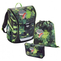 Ранец Step By Step BaggyMax Fabby Green Dino (00138630)