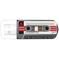 Флеш-диск Verbatim 32GB Mini Cassette Edition (49391)