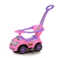 Каталка-толокар Baby Care Cute Car 558 розовый
