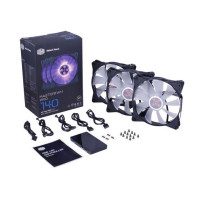 Вентилятор для корпуса Cooler Master MasterFan Pro 140 Air Flow RGB (MFY-F4DC-083PC-R1)