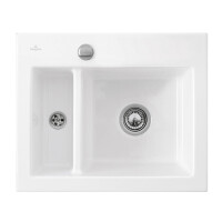 Кухонная мойка Villeroy & Boch Subway 60 XM 678002R1 White Alpin
