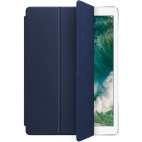 Чехол Apple Leather Smart Cover iPad Pro 12.9 Midnight Blue (MPV22ZM/A)