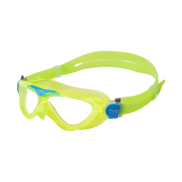 Маска для плавания TYR Rogue Swim Mask Youth LGRSMKD/892 зеленый