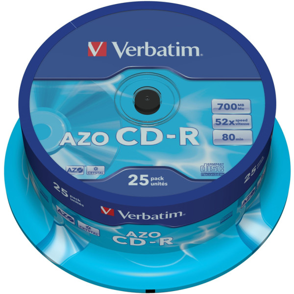 Диск CD-R Verbatim 700MB 43352