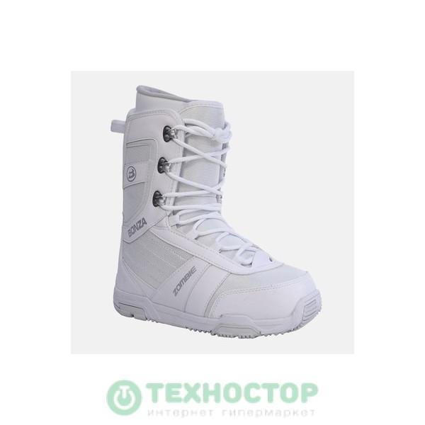 Сноубордические ботинки Bonza Zombie women white/grey 37.5