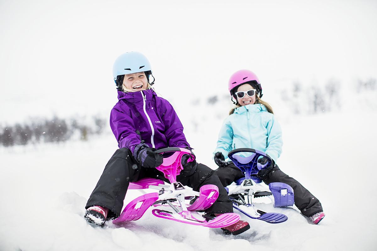 выбираем снегокат для детей