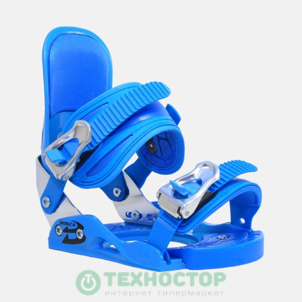 Сноубордические крепления Bonza Zombie Blue S/M