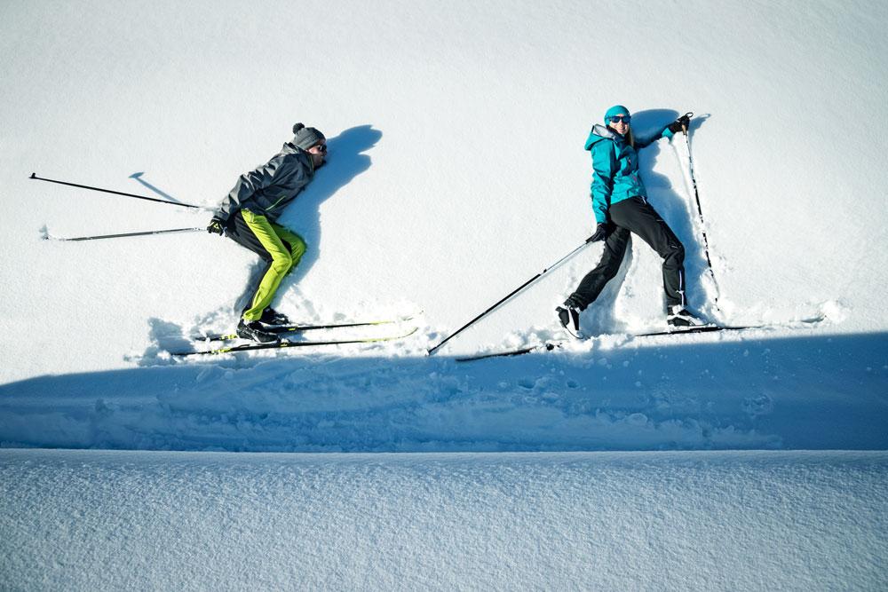 виды беговых лыж
