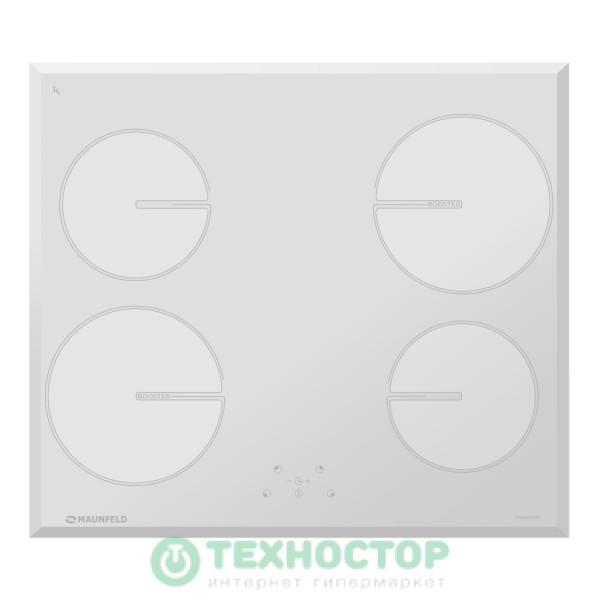 Встраиваемая индукционная варочная панель Maunfeld MVI59.4HZ.2BT-WH