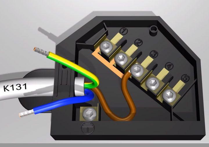 кабель для подключения варочной панели