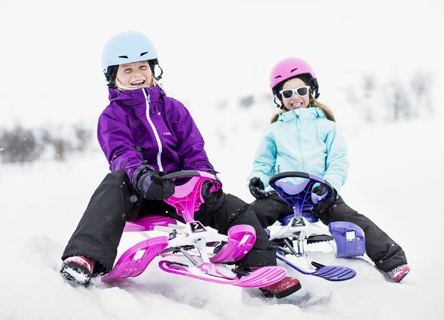 Как выбрать детский снегокат