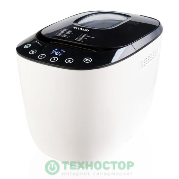 Хлебопечка Hyundai HYBM-P0613 белый/черный
