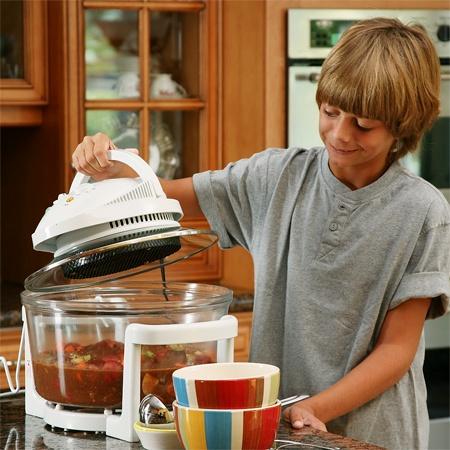 Аэрогриль – главный помощник на кухне