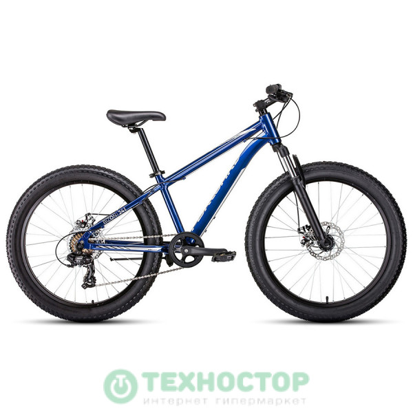 Велосипед Forward Bizon mini FatBike AL 24 (2019-2020) 13 синий (RBKW0W647002)