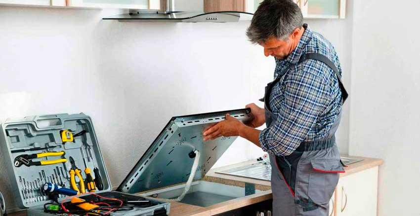 подключить варочную панель и духовой шкаф