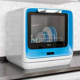 Компактная посудомоечная машина Midea MiNI